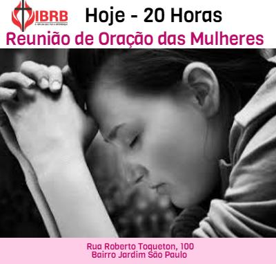 Reunião de Oração Das Mulheres 12/04/2019