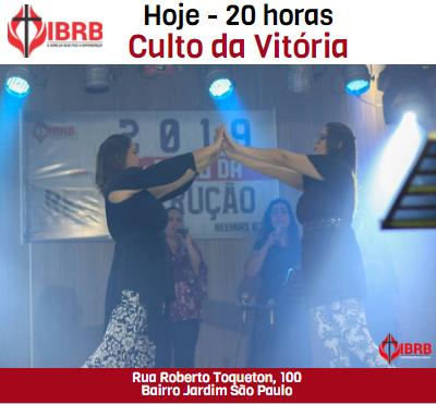 Culto da Vitória 01/05/2019